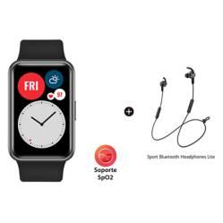 Huawei - Smartwatch BUNDLE FIT BLAC