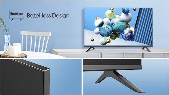 Bezel-less Design
