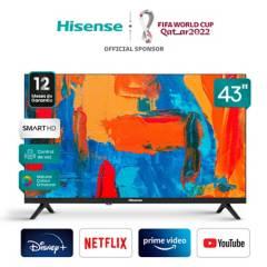 """Hisense - LED 43"""" 43E5610 Android TV Full HD Smart TV"""