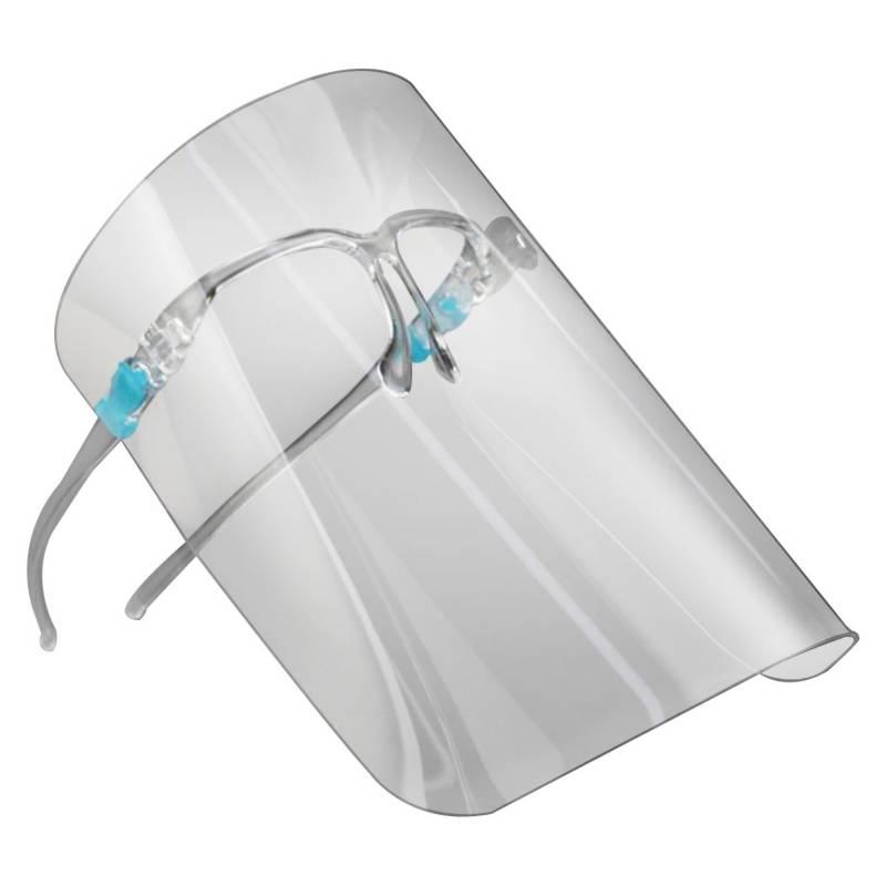 ACQUI - Pack 10 Escudos Protector Facial Con Gafas