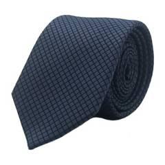 Basement - Corbata Azul Petróleo Cuadro 7 Cm