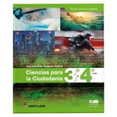 Santillana - Ciencias para La Ciudadanía 3 y 4 Ap Xxi