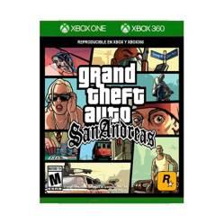 Xbox - Grand Thef Auto: San Andreas