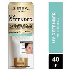 Dermo Expertise - Crema Diaria Uv Defender Fps 50 Anti Brillo