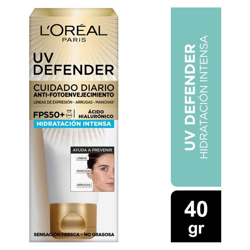 Dermo Expertise - Crema Diaria Uv Defender Fps 50 Hidratación Intensa