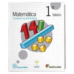 Santillana - Matemática 1 Básico Cuaderno Casa Del Saber