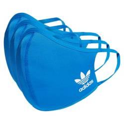 Adidas - Mascarilla de Tela Suave 3 Unidades M/L