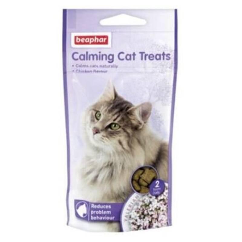 BEAPHAR - Beaphar-Calming Cat Treats/Snacks antiestrés/gatos