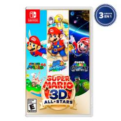 Nintendo - Videojuego Super Mario 3D All Star Switch