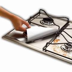GENERICA - Pack 12 Lamina De Aluminio Protector Para Cocina