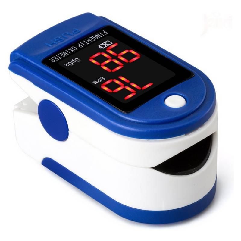 HB IMPORTACIONES - Oximetro Saturometro Bpm Mide Pulso Y Oxigenación