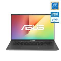 "Asus - Notebook VivoBook X412FA Intel Pentium Gold 4GB RAM 128GB SSD 14"""