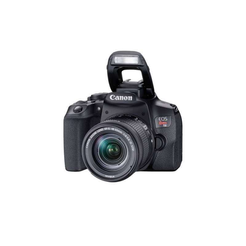 CANON - Reflex T8I + Lente 18-55 IS ST