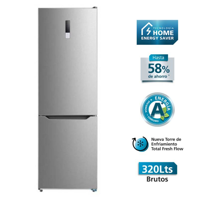 MABE - Refrigerador Bottom Freezer No Frost 290 lt RMB302PXLRS0