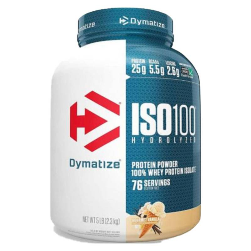 DYMATIZE - Proteina Iso Vainilla 100 5 L