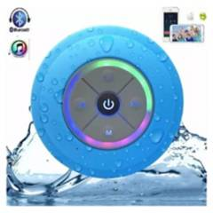 GATON - Parlante Bluetooth Waterproof Con Luces Negro