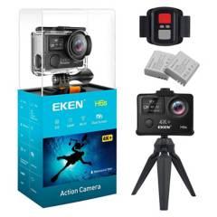 EKEN - Cámara Deportiva Eken H6S 4K Wifi  Estabilizador