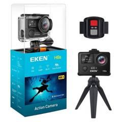EKEN - Cámara deportiva Eken H6S 4K WiFi y Estabilizador