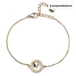 OLIVER WEBER BY SWAROVSKI - Pulsera Little Star Ste Gp Cry