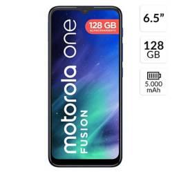 Motorola - Motorola Moto One Fusion 128GB Rom 4GB Ram Azul