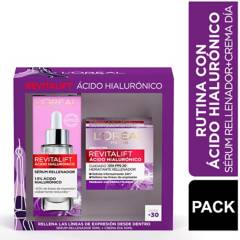Dermo Expertise - Set Revitalift Acido Hialuronico Crema Dia + Sérum