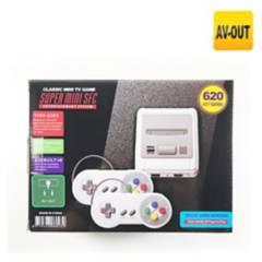 GENERICO - Consola Retro Super Clásicos 620 Juegos