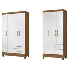 ROCH LTDA - Combo Closet M-802  Closet M-803