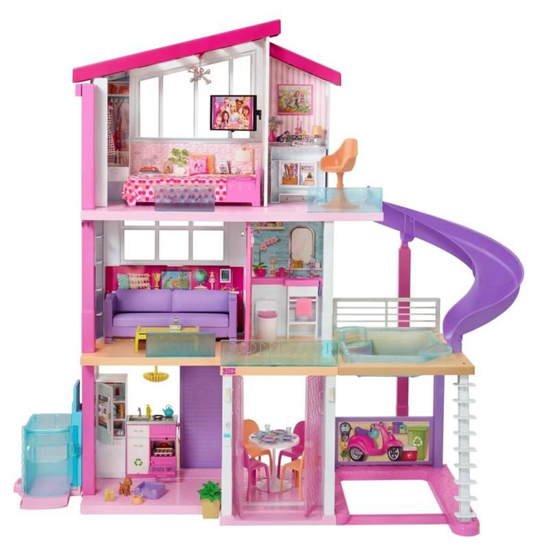 BARBIE - Casa De Muñecas Barbie Mega Casa De Los Sueños