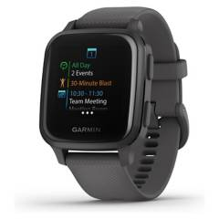 GARMIN - Smartwatch Venu Sq Shadow Gray/Slate