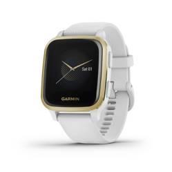 Garmin - Smartwatch Venu Sq White/Light Gold