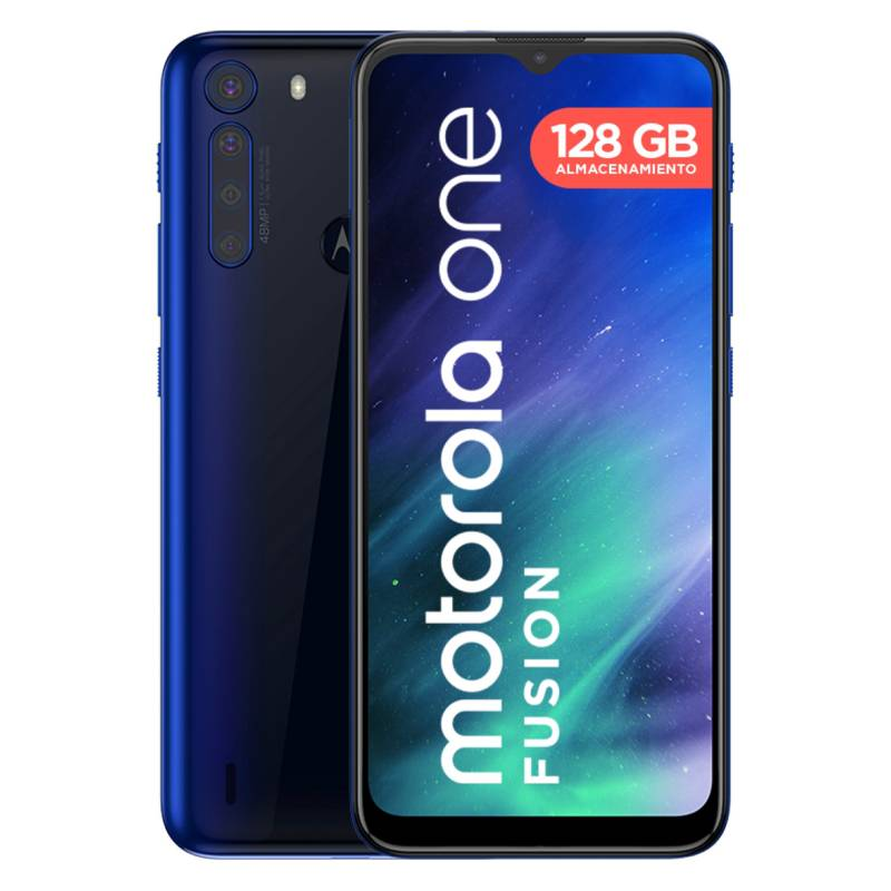 MOTOROLA - Smartphone One Fusion 128GB