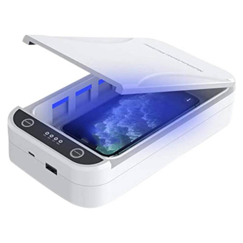GENERICO - Caja Esterilizadora De Teléfono Con Luz Uv G909