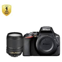 Nikon - Cámara Nikon D3500  Lente 18-140Mm