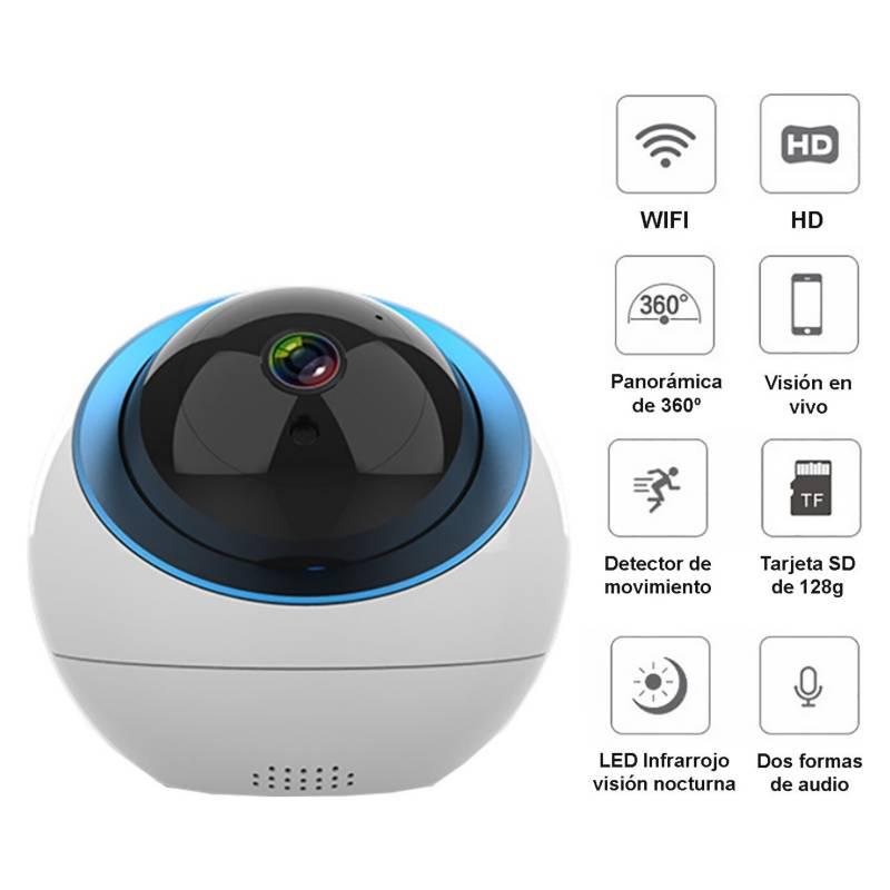 VIPA - Camara Robotica Ip Wifi 360 Full Hd 1080P