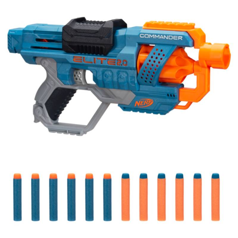 NERF - Lanzadores Nerf  Elite 2.0 Commander