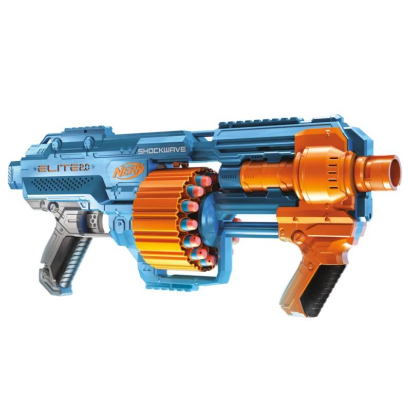 NERF - Lanzador Nerf Elite 2.0 Shockwave Rd-15