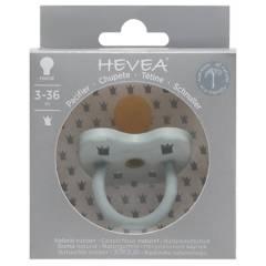 HEVEA - Chupete Ortodoncia Hevea Gorgeous Grey 3-36 meses