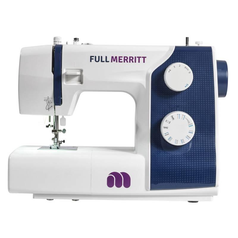 MERRITT - Máquina De Coser Me 3b Full Merritt. Seda, Jeans, Cuero. 4x4
