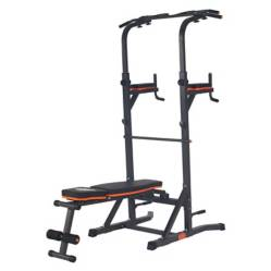 BASKO FITNESS - Maquina Ejercicios Multifuncional Power Tower