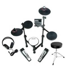 CARLSBRO - Bateria Electronica + sillin y audifonos CLUB100BP1