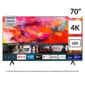 "SAMSUNG - LED 70"" UN70TU6900GXZS 4K Ultra HD Smart TV"