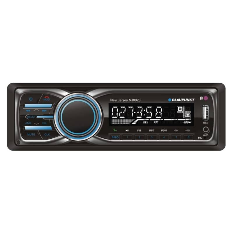BLAUPUNKT - Radio Auto Din Desmontable Con Bluetooth Y Usb