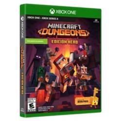 Xbox - Videojuego Minecraft Dungeons Hero Edition Xbox One