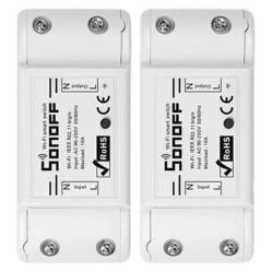 SONOFF - Pack De 2 Interruptores Diy Sonoff Basic Wifi