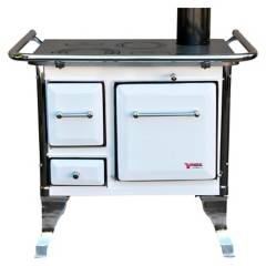 YUNQUE - Cocina a Leña Yunque 90X60 Blanca