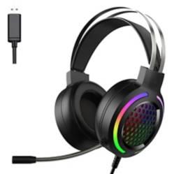 COMPRAPO - Audifonos Gamer Friwol Rgb Usb Para Pc 7.1 Negros