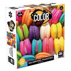 TOYNG - Puzzle 1.000 Piezas  Macarrones De Colores