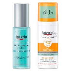 EUCERIN - Estuche Sun Face Oil Control 50 Ml + Hf Hydrating Booster 30 ml