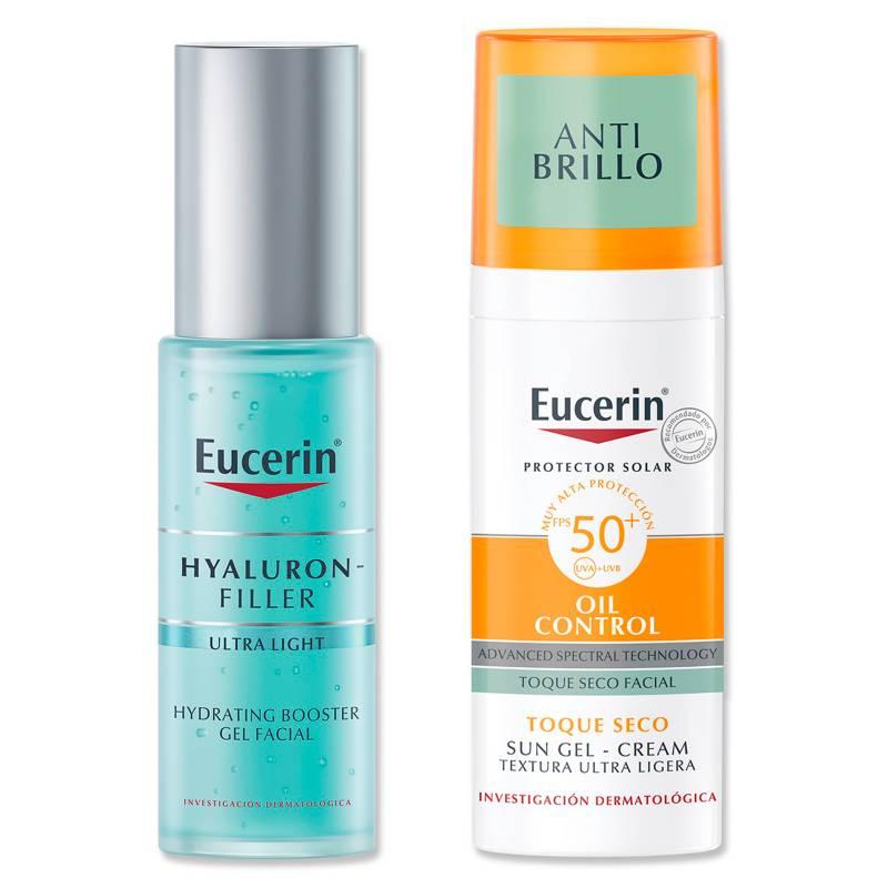EUCERIN - Set Sun Face Oil Control 50 ml + Hf Hydrating Booster 30 ml