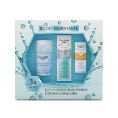 EUCERIN - Set Hidratante Dermatoclean Micelar 100 ml + Hf Hydratatin booster 30 ml
